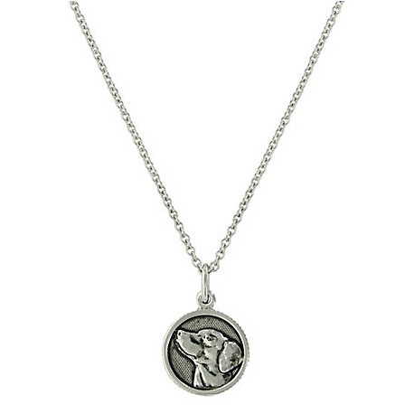NC4049 Happy Tails Golden Retriever Necklace