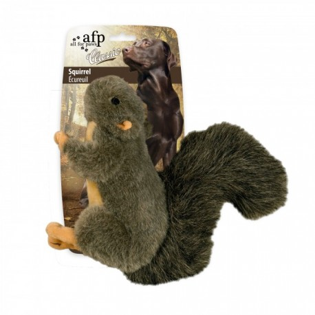 Dog Toy - Plush Squirrel