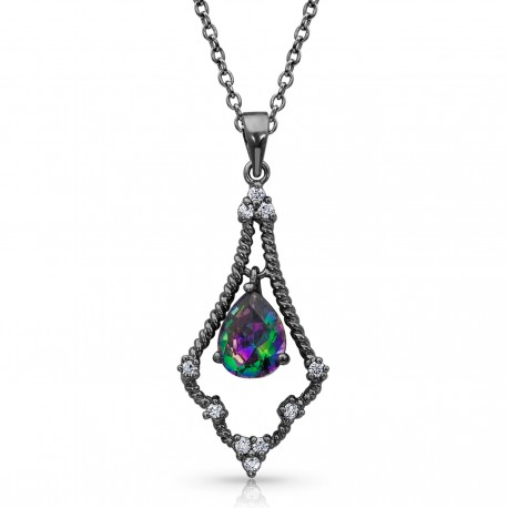 NC4140 Northern Lights Mystic Constellation Necklace