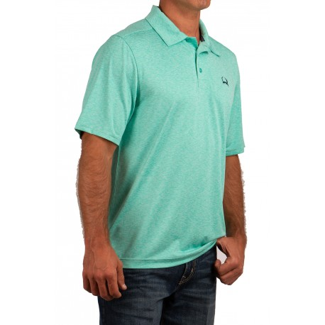 Cinch Arenaflex Men's Polo Shirt Mint