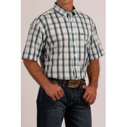Cinch Arenaflex Men's Shirt Plaid Print