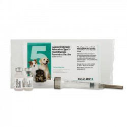 Solo-ject 5 Plus with syringe Dog vaccine