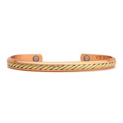 Sergio Lub Copper Magnetic Bracelet Copper Maya