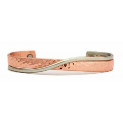 Sergio Lub Copper Magnetic Bracelet Hugging Metals