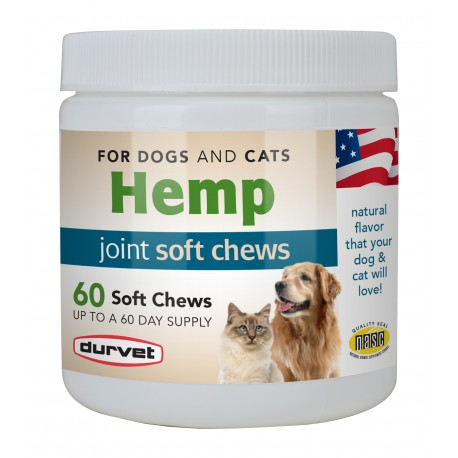 Durvet Hemp Joint Soft Chews