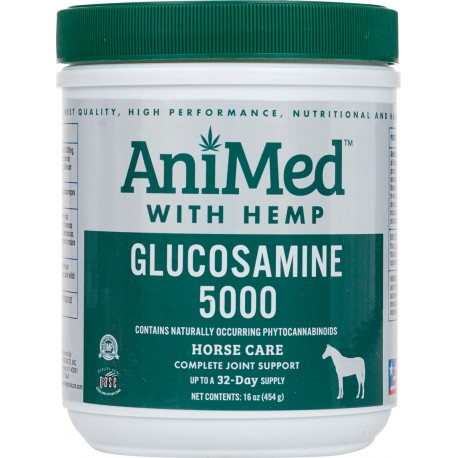 Animed Glucosamine 5000 w/Hemp