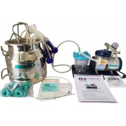 Udderly EZ Ultimate Milker with SS Bucket Kit