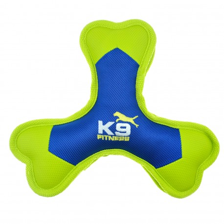 Zeus K9 Fitness Nylon Tri Bone Dog Toy
