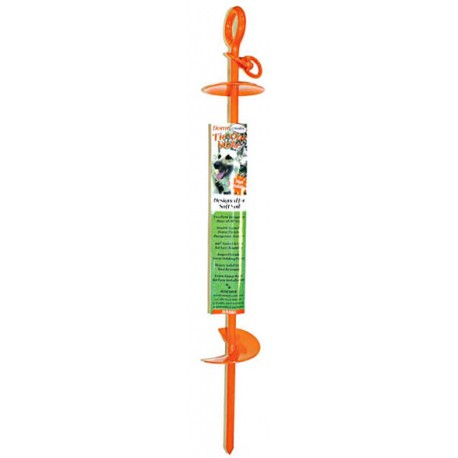 Dog Tie Out Stake for Soft Soil