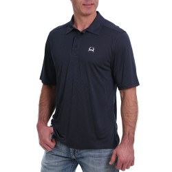 Cinch Arenaflex Men's Polo Shirt Navy