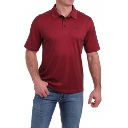 Cinch Arenaflex Men's Polo Shirt Red