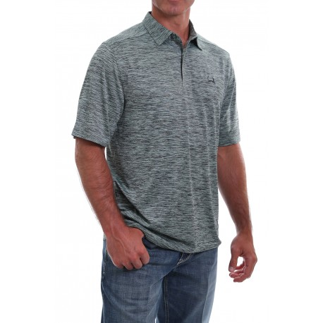 Cinch Arenaflex Men's Polo Shirt Heather