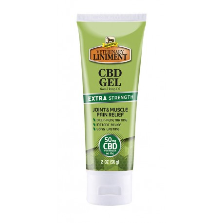 Absorbine Veterinary Liniment CBD Gel 50mg