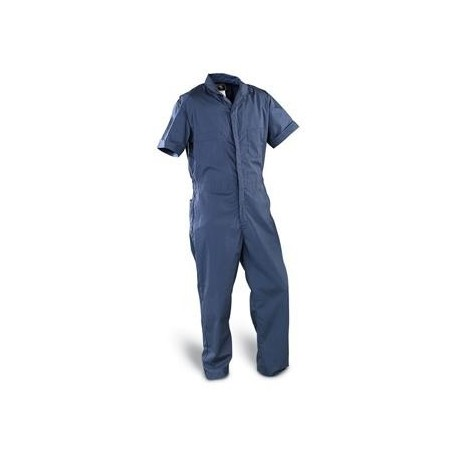 Coveralls-Poplin-short sleeve