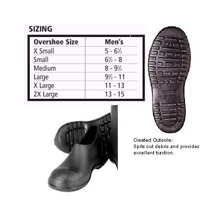 Tingley Hi Top Black Rubber Boots 1300