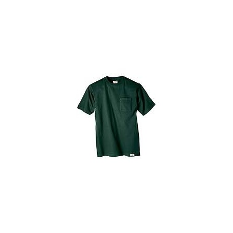 Dickies Pocket T-Shirts  (Red)   2/pkg