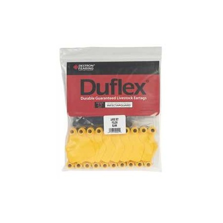 Duflex Large Blank Tags