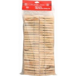 Clothes Pins Wooden 100ct