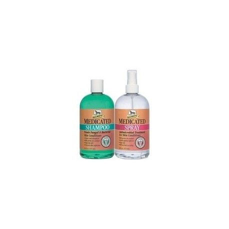 Medicated Shampoo & Spray Twin Pack