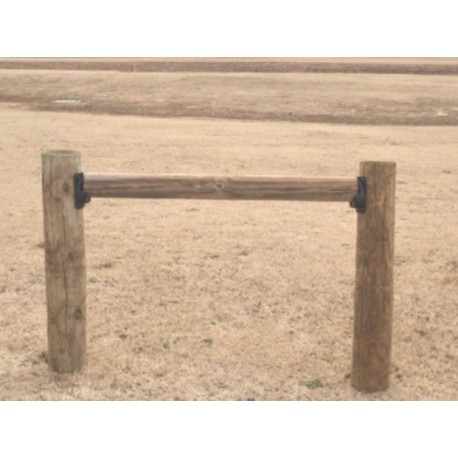Quick Brace for Fence Posts H type- 1pkg of 2ct