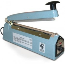 Impulse Heat Sealer with flat element, 8 inch