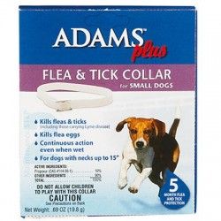 Adams Plus Flea & Tick Collar - Dogs