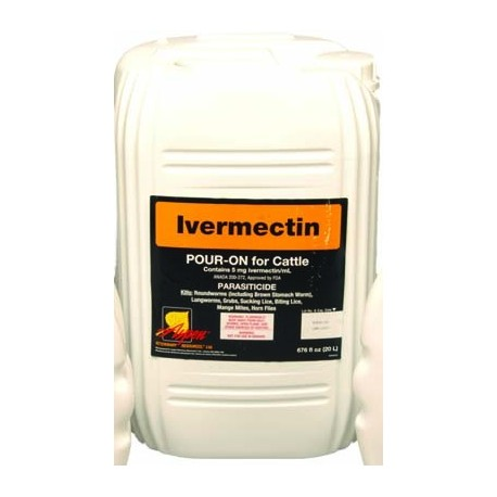 Ivermectin Pour On Cattle Wormer 20lt