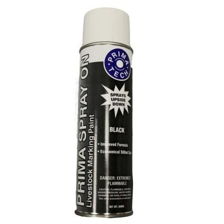 Prima Spray Marker Black