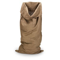 Burlap Wool Bag