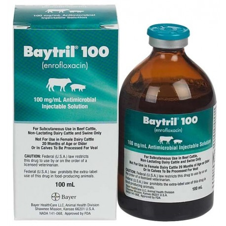Baytril 100 RX 100ml