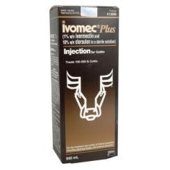 Ivomec Plus Injection for Cattle 500ml