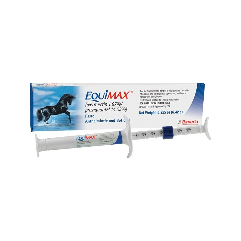 Equimax Horse Wormer Paste 6 42gm