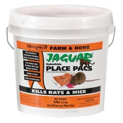 Jaguar Rodenticide Bait 50gm 73ct