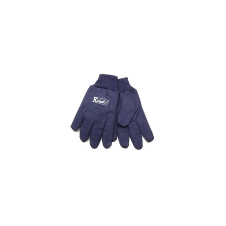 Kinco Chore Blue Cotton Gloves XLARGE pair 800-XL