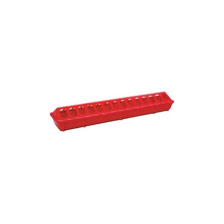 "Flip Top Feeder Plastic 20"" RED 820 each"