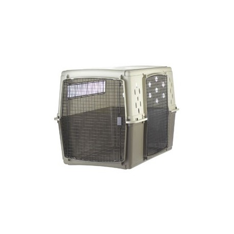 Pet Crate Plastic Double Door MEDIUM