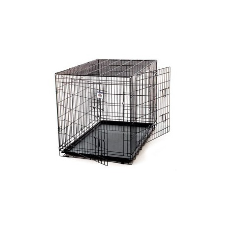 Pet Crate Wire Double Door MEDIUM