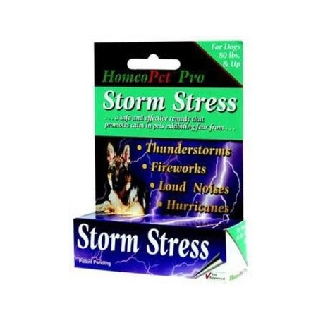 Homeopet Pro Storm Stress DOG 80lbs plus 15ml