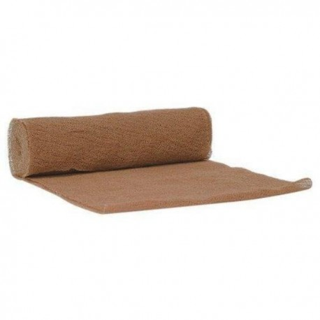 "Brown Gauze Wrap 6"" x 5yd 12ct/box"