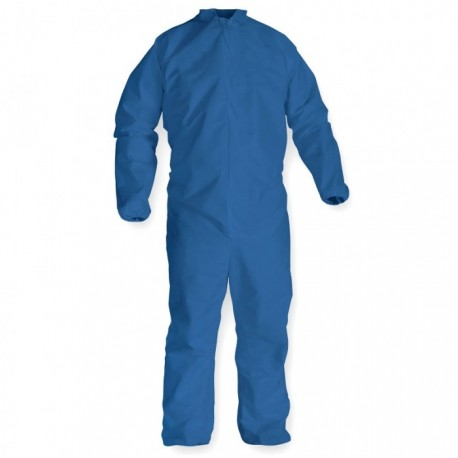 Coveralls Polypropylene navy loose wrist/ankle  25ct 2412