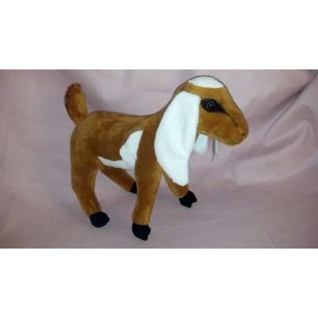 Nubian Stuffed Goat Toy