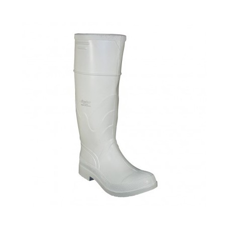 "Onguard White PVC Steel Toe 16"" Boots 81012"